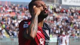 Serie A Cagliari, Joao Pedro segna e fa segnare