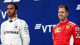 F1, Hamilton difende Vettel: «Più rispetto per Sebastian»