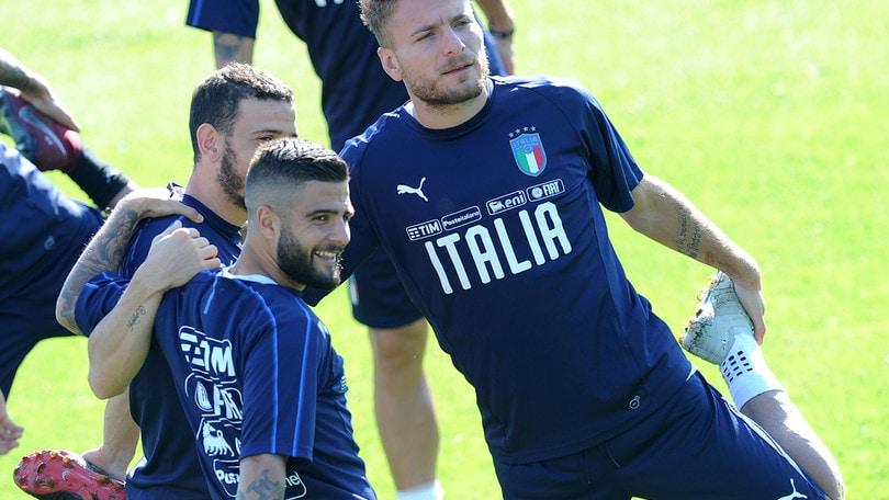Italia-Ucraina, spicca la coppia gol Immobile-Insigne