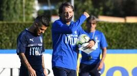 Italia, Mancini lancia Insigne: tridente con Bernardeschi e Chiesa
