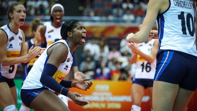 Volley femminile, Mondiali 2018: Cina domina Stati Uniti, sorpresa Giappone
