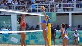 Beach Volley: Olimpiadi Giovanili, Scampoli-Bertozzi concedono il bis