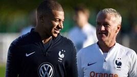 Francia-Islanda, Mbappè e Griezmann in prima fila per il gol