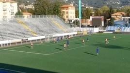 Entella, il primo gol di Cassano