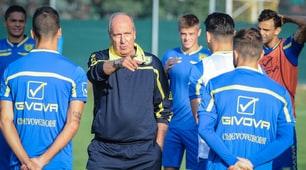 Ventura torna in campo. Primo allenamento con il Chievo Verona