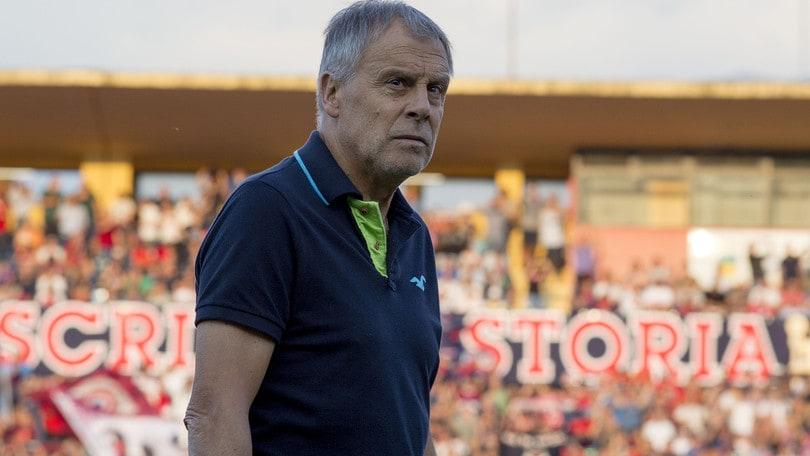 Serie B Cosenza, Braglia: «Resto fiducioso, dobbiamo lavorare tanto»