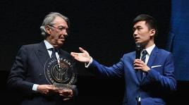 Moratti esalta l'Inter:«È una squadra da Champions»