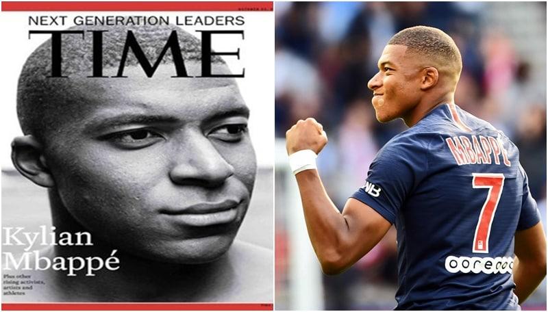 Mbappè si prende la copertina del Time: «È il futuro del calcio»