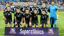 Iraq-Argentina 0-4: Lautaro Martinez e Pezzella a segno