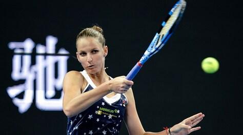 Tennis, Tianjin Open: Pliskova è la prima semifinalista