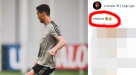 Juventus, Ronaldo alza il pollice e tira dritto