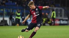 Serie A Cagliari, infiammazione al tendine rotuleo per Romagna