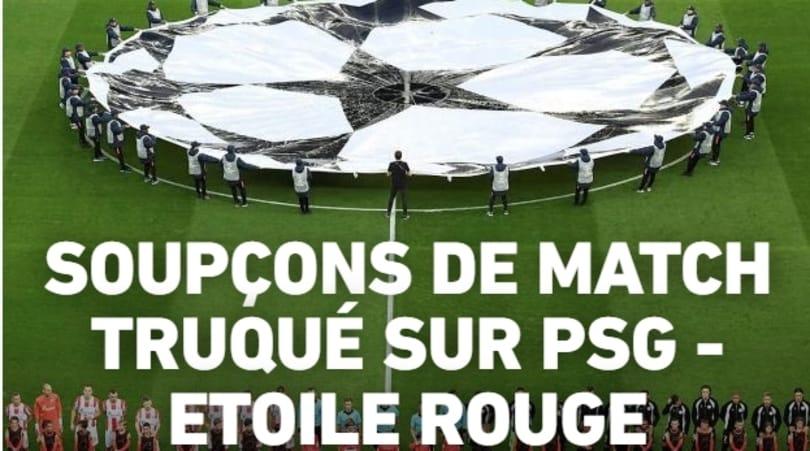 Champions League, PSG-Stella Rossa: indagine su un possibile caso di calcio-scommesse