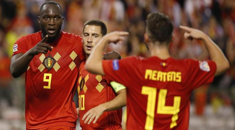 Mertens assist, il Belgio va. Ok la Grecia di Manolas