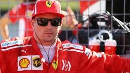 F1 Ferrari, Raikkonen danneggia auto parcheggiata: multato