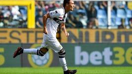 Serie A Parma, contusione alla coscia per Siligardi