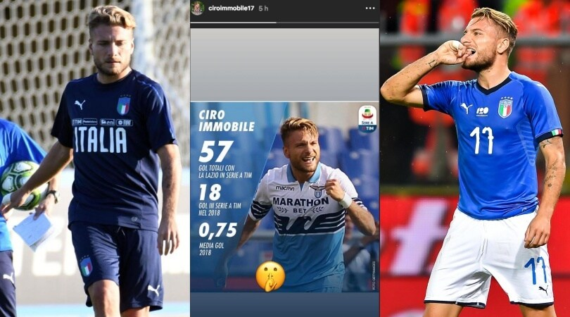 Nations League, Italia: Immobile zittisce i critici sui social