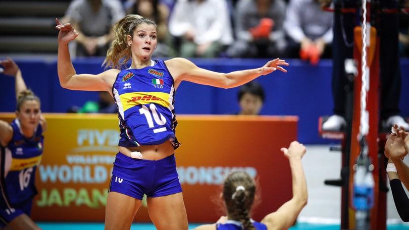 Volley Mondiali Femminili Cristina Chirichella presenta Italia-Giappone