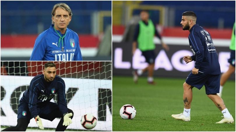 """Italia, ultime prove prima dello """"spareggio"""" con la Polonia"""