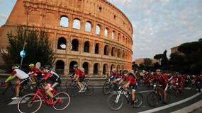 Granfondo Campagnolo, show a Roma!