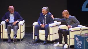 Guardiola e Ancelotti, questione di... capelli!