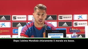 "Sergio Ramos: ""Spagna, dobbiamo ritrovare l'entusiasmo"""