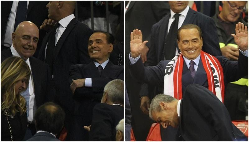 Monza, la prima di Berlusconi e Galliani al Brianteo