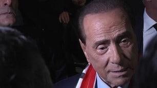 """Berlusconi: """"Il fondo Elliott non può fare brutte figure"""""""