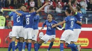 Biraghi beffa la Polonia: l'Italia evita la Serie B