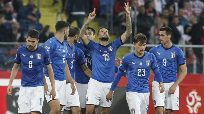 Nations League, Polonia-Italia 0-1: decide un gol di Biraghi nel recupero