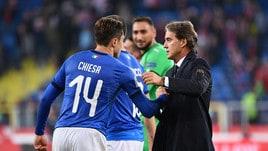 Mancini: «Partita dominata». Verratti: «Io in Nazionale? Come Messi»