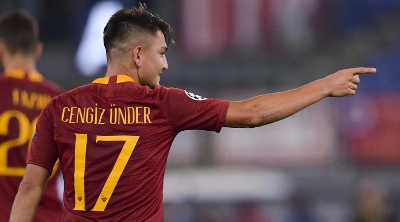 Roma, il Bayern ha puntato Ünder. Può partire anche Schick