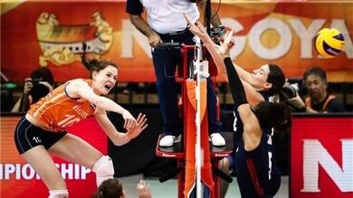 Volley: Mondiali Femminili: l'Olanda batte gli Usa, in semifinale con la Cina