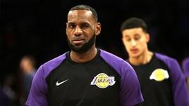 Basket, riparte l'NBA: Lebron trascina i Lakers nelle quote sul titolo
