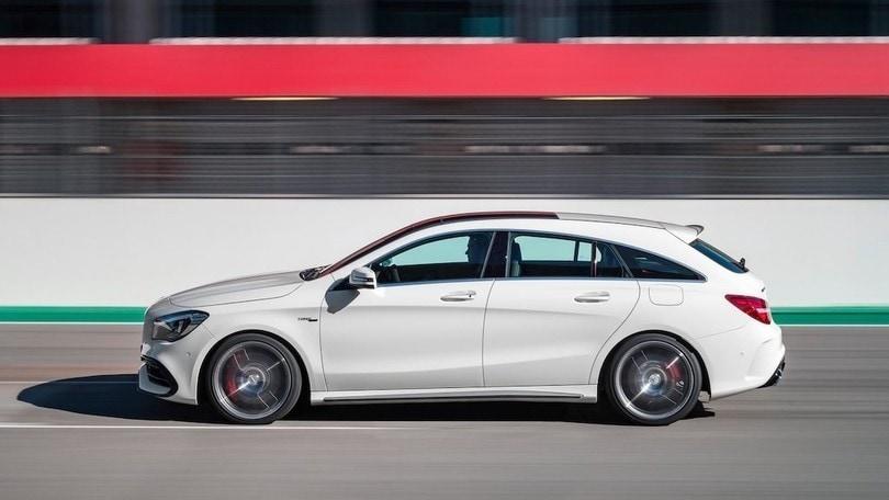 Nuova Mercedes CLA, Shooting Brake secondo atto nel 2019