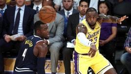 Nba, effetto Lebron: i Lakers volano nelle quote