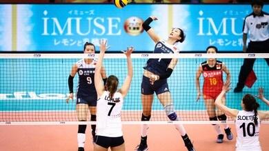 Volley: Mondiali Femminili, l'Italia in semifinale contro la Cina