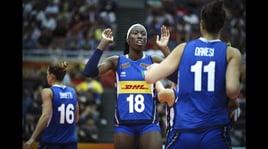 "Volley: alla Nazionale Femminile Il ""Medaillon D'honneur"""