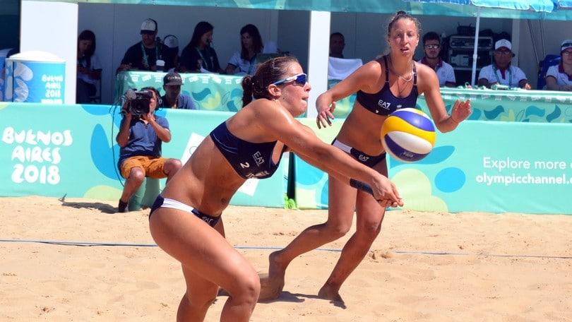 Beach Volley: Olimpiadi Giovanili, Scampoli-Bertozzi in finale per l'oro