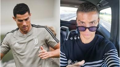 La Juventus torna ad allenarsi, CR7 concentrato sui social