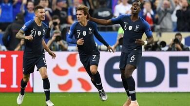Francia-Germania 2-1, una doppietta di Griezmann spinge Löw verso la B