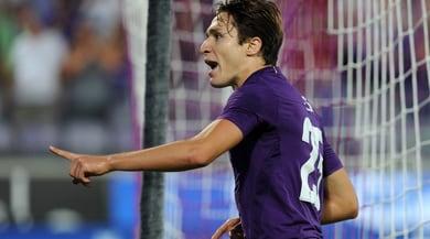 Fiorentina, Chiesa esclusivo: «Guarda come mi diverto»