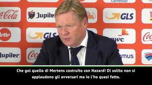 "Koeman: ""Ho quasi applaudito il gol di Mertens..."""