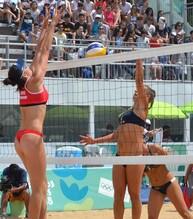 Beach Volley: Olimpiadi Giovanili, Scampoli-Bertozzi sono d'argento