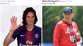 Psg-Napoli, sfida social con Cavani e Ancelotti