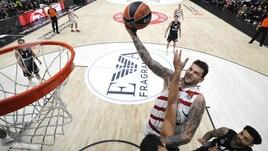 Eurolega, Milano: a 3,75 il riscatto contro l'Olympiakos