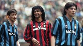 Da Rummenigge a Gullit, da Ronaldo a Shevchenko: la fotostory di Inter-Milan