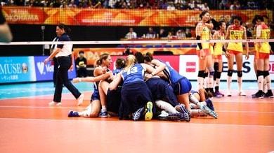 Volley: Mondiali Femminili: l'Italia è in finale, domata la Cina