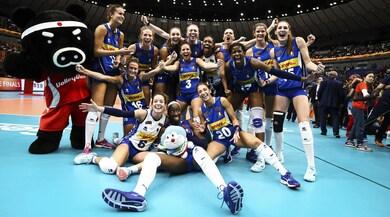 Mondiali Volley: ct Mazzanti, Sylla, Danesi e Chirichella in coro:«Sembra un sogno»