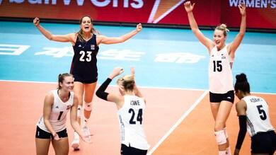 Volley: Mondiali Femminili: gli Stati Uniti conquistano il quinto posto
